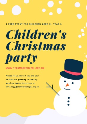 Children's Christmas Party '19